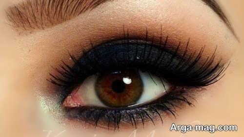 مدل آرایش چشم زنانه عربی