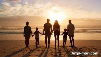 جملات دلنشین در مورد خانواده