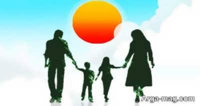 متن مفهومی و جذاب در مورد خانواده