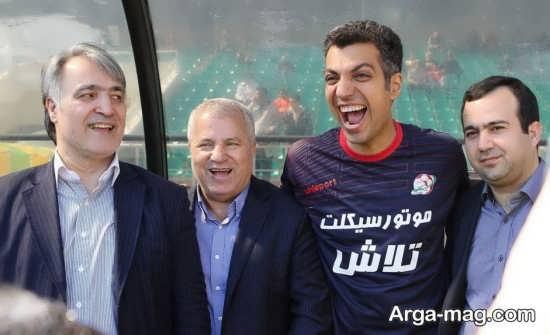 عادل فردوسی پور و علی پروین