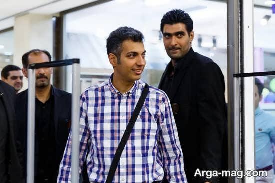 عادل فردوسی پور در استادیوم