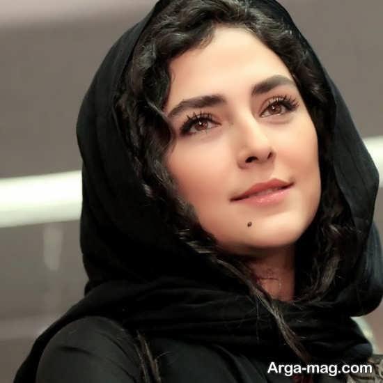 چهره ی زیبای هدی زین العابدین