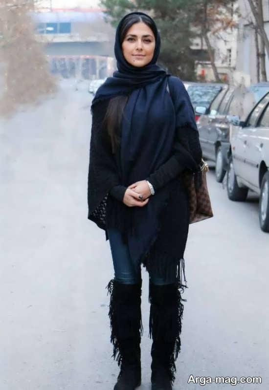 هدی زین العابدین در خیابان