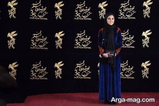 هدی زین العابدین و حضورش در جشنواره فجر