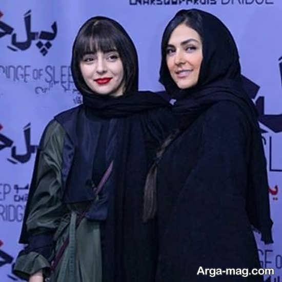 هدی زین العابدین و دوستش