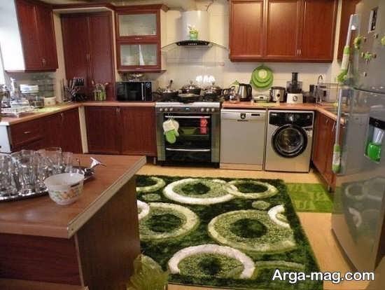 طراحی زیبای آشپزخانه عروس