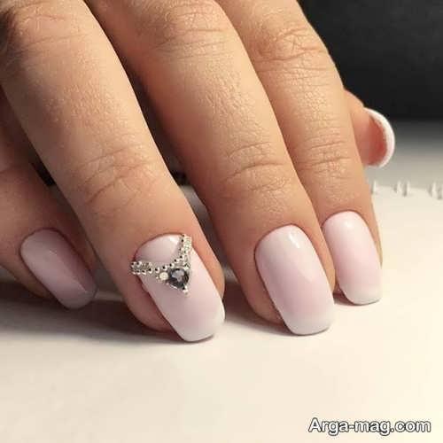 طراحی شیک و باکلاس ناخن عروس