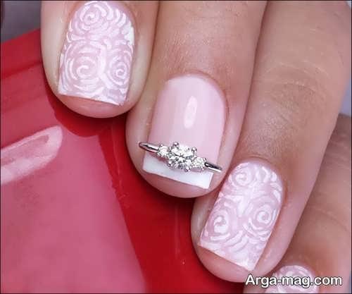 طراحی زیبا و شیک ناخن عروس