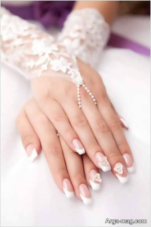 دیزاین ناخن عروس