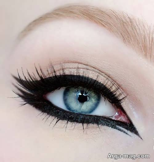 مدل آرایش چشم شیک گربه ای