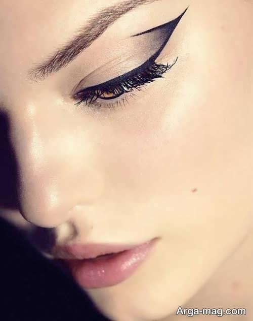 میکاپ چشم زیبا و ساده
