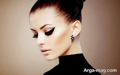 مدل آرایش چشم شیک و ساده زنانه