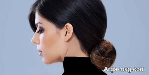 مدل آٰرایش موی بسته برای موی کم پشت