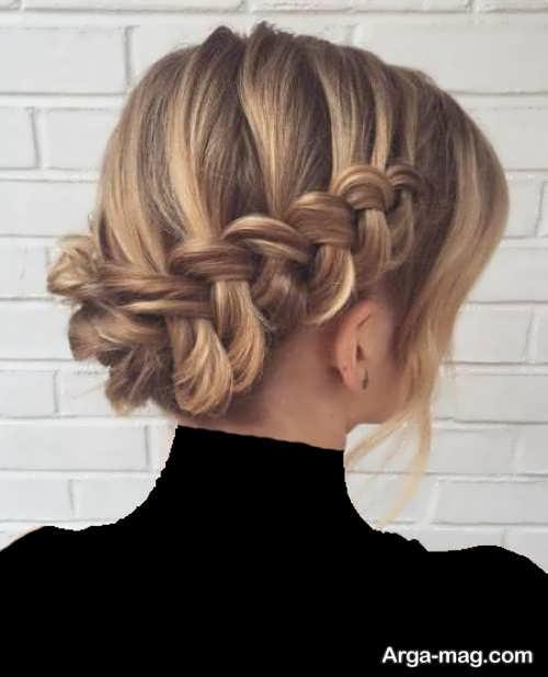 مدل آرایش موی بسته و شیک
