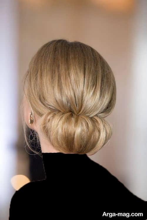 مدل موی ساده برای موهای کم پشت