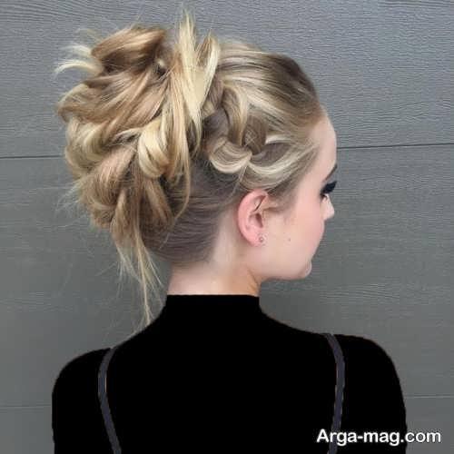 مدل های زیبایشینیون موهای کم پشت با متدهای حرفه ای