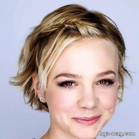 آرایش موی کوتاه و کم پشت