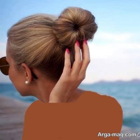 مدل موی بسته