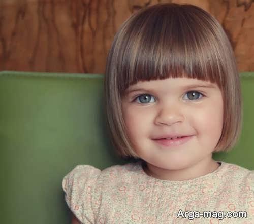 مدل کوتاهی موی بچه گانه دخترانه زیبا