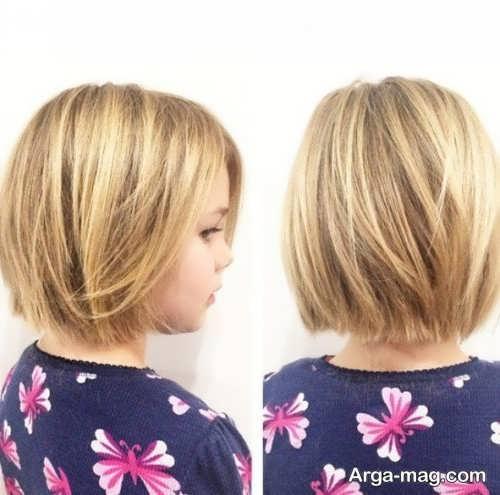 مدل مو کوتاه بچه گانه دخترانه