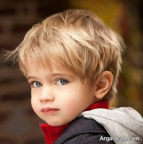 مدل کوتاهی موی بچه گانه پسرانه