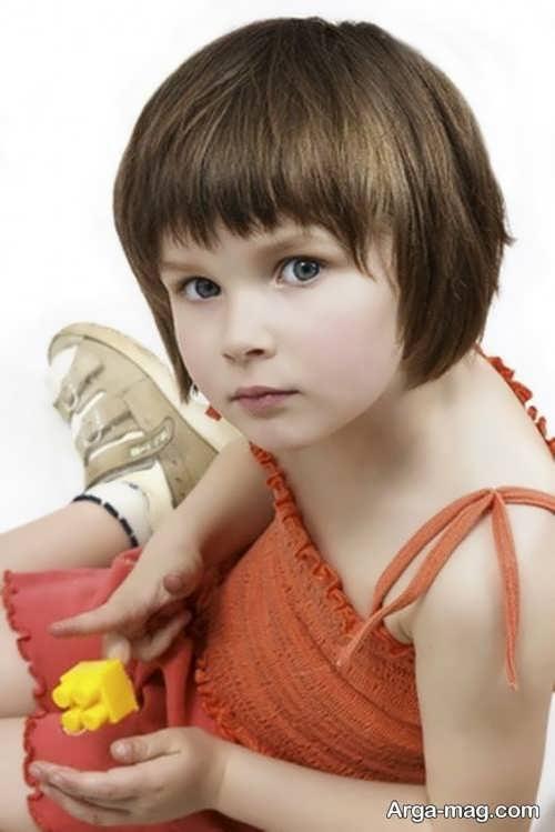 مدل موی کوتاه دخترانه بچه گانه