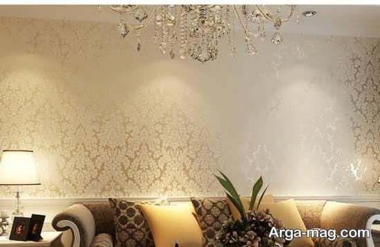 کاغذ دیواری سنتی با طرح متفاوت