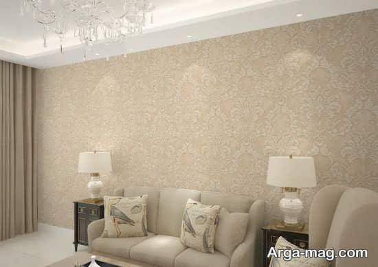 کاغذ دیواری سنتی جالب