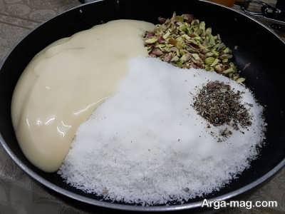 مخلوط شکر، هل و نارگیل