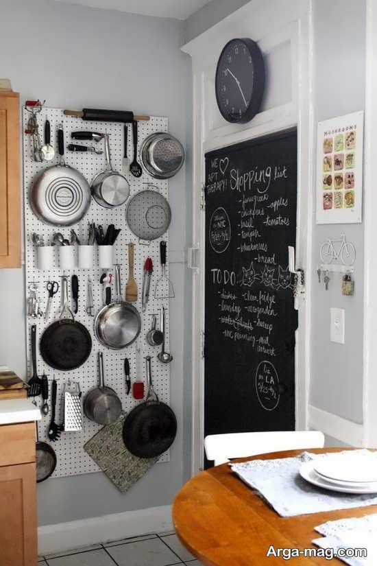 دکوراسیون خلاقانه در محیط آشپزخانه