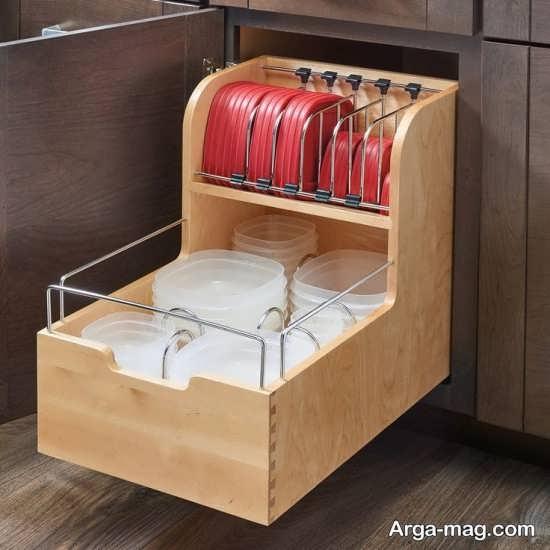 خلاقیت در ذخیره سازی ظروف