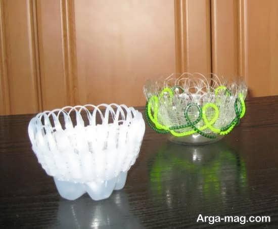 کاردستی خلاقانه با مواد بازیافتی