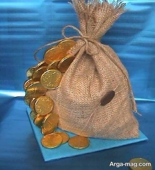 دیزاین دوست داشتنی سکه سفره هفت سین