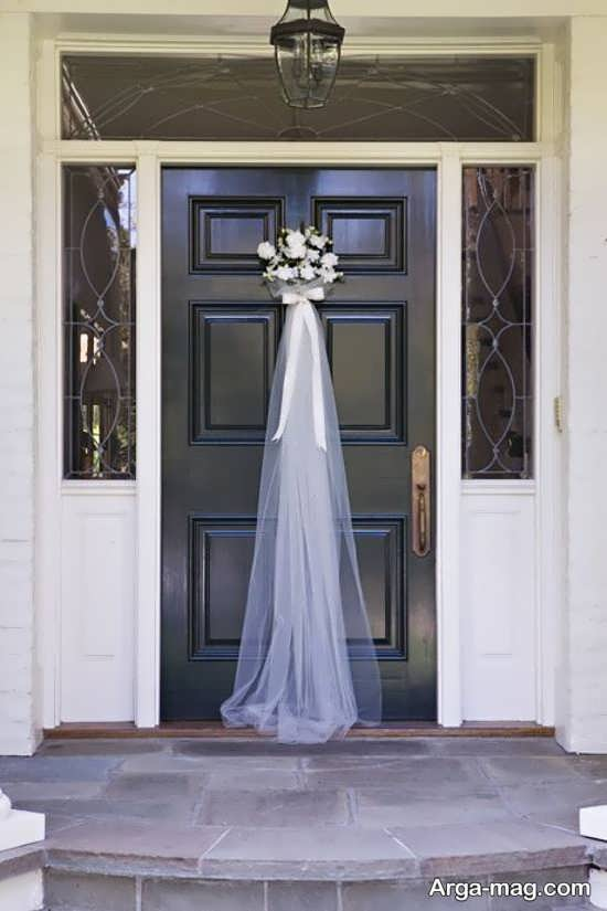 تزیین درب اتاق عروس