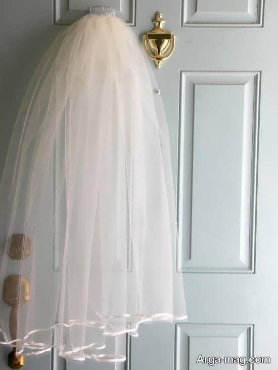 طراحی زیبای درب اتاق عروس