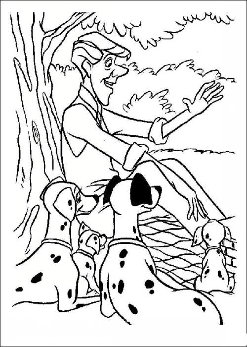 نقاشی سگ برای بچه ها