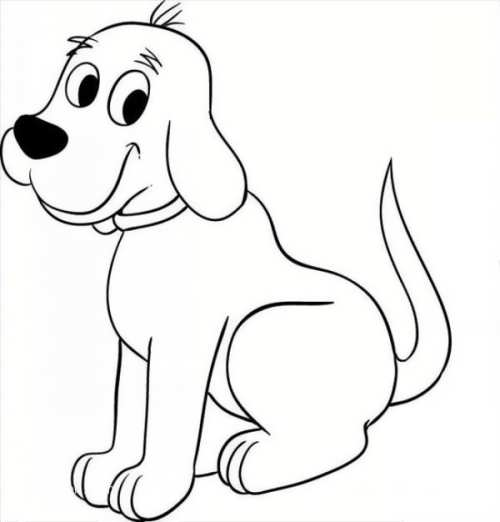 نقاشی با مزه و فانتزی سگ