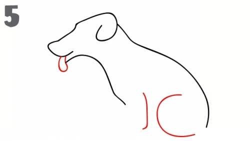 آموزش نقاشی سگ