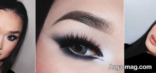 مدل خط چشم زنانه گربه ای برای آرایش روز