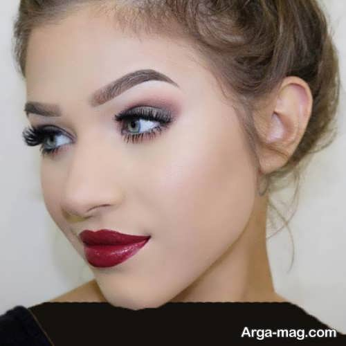 مدل میکاپ صورت برای پوست روشن