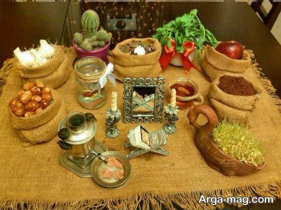 تزیین سنتی هفت سین