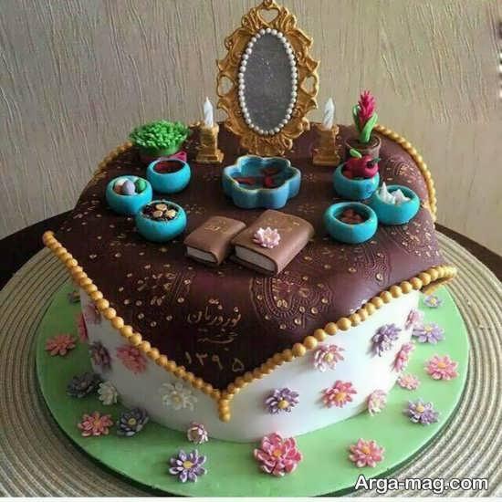 کیک سفره هفت سین