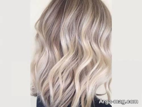 رنگ مو بلوند کرم