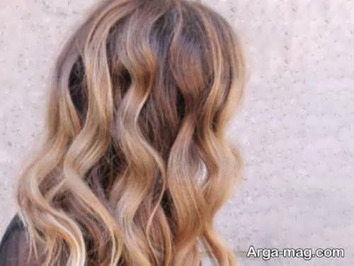 رنگ مو بلوند برنز