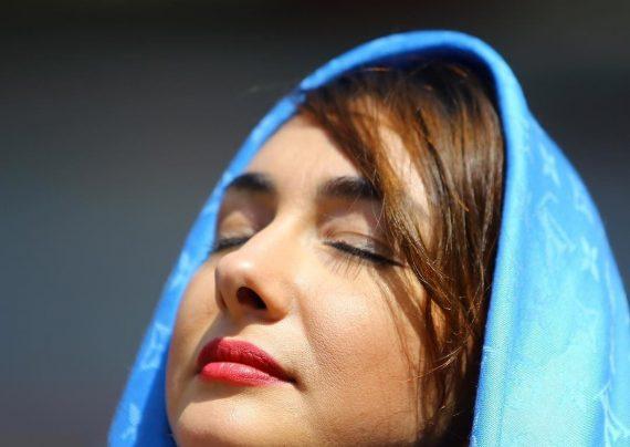 عکس های زیبای هانیه توسلی در سینما کوروش