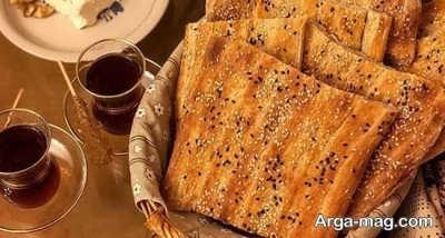 آموزش تهیه نان بربری بدون فر