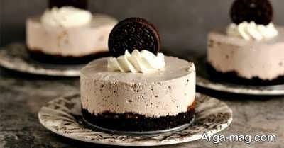 روش تهیه کیک بستنی شکلاتی