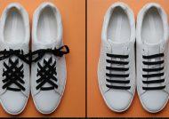گره زدن بند کفش