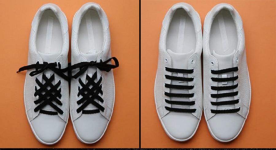 آموزش گره زدن بند کفش با 6 روش متفاوت