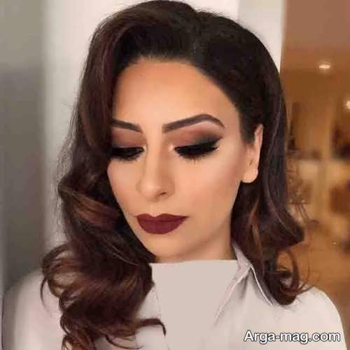مدل آرایش صورت زیبا و شیک 2018